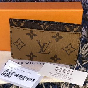 Louis Vuitton Card Holder Monogram reverse